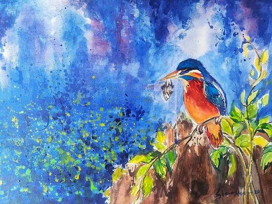 Kingfisher, the Hunter