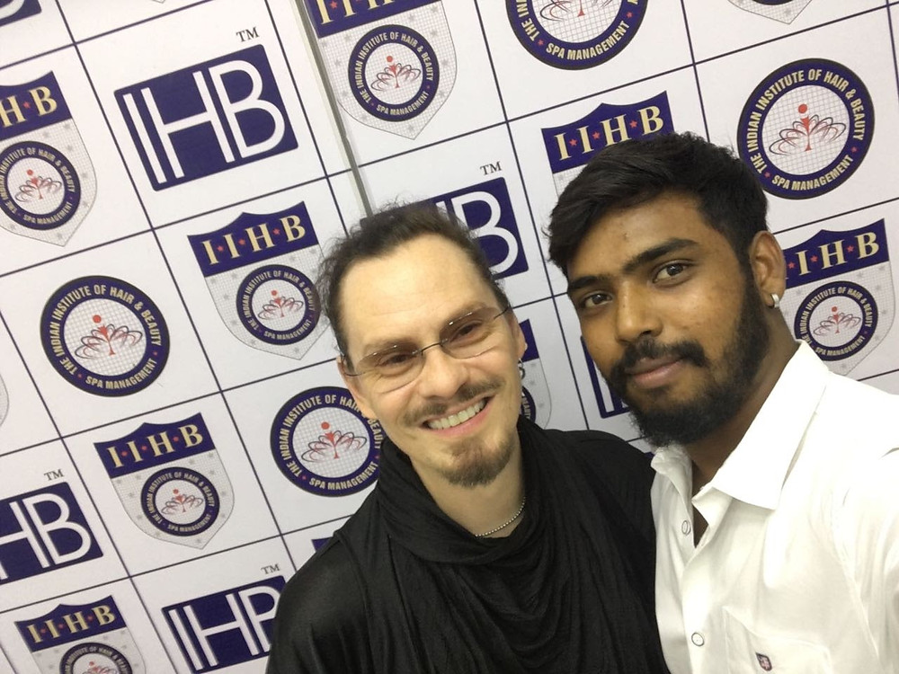 Joseph with Joakimg Roos IHB Education