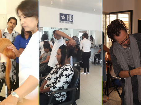 What are the different types of hair courses?