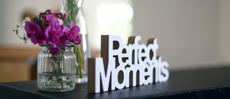 "Blumendeko Hochzeit ""Perfect Moments"""