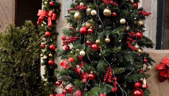Weihnachtsdekoration Alter Bahnhof Erkrath
