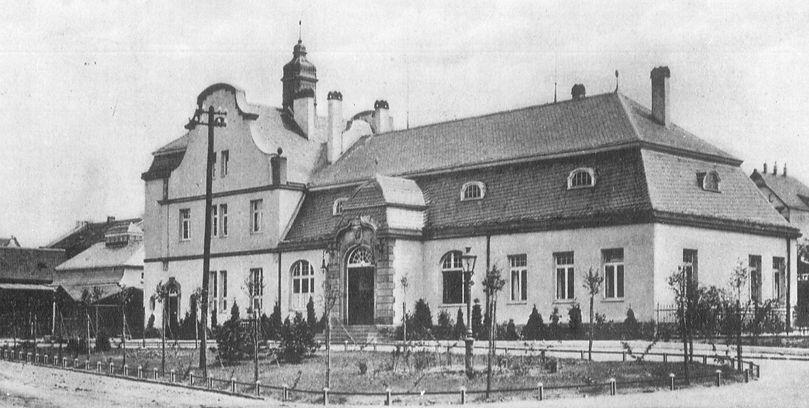 Historisches Bild Alter Bahnhof Erkrath
