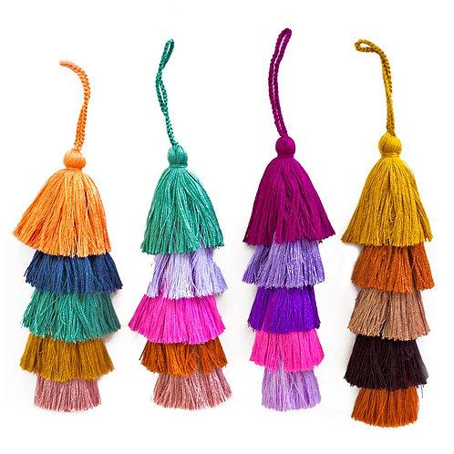 Guatemalan Pom Bell Tassel
