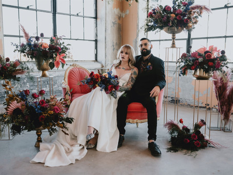 Edgy Wedding Inspo for the Bold Bride