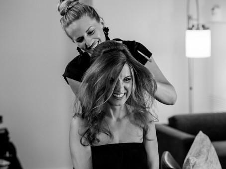 Should you use a Bridal Team or a Salon?