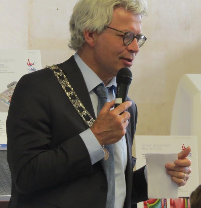 Burgemeester Ferd Crone