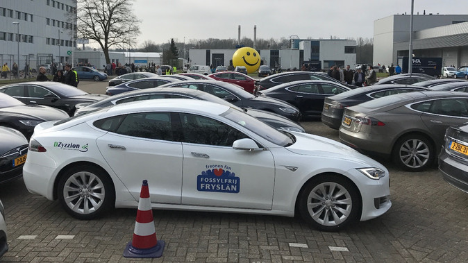 Freonen bij wereldrecord elektrische voertuigen