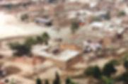 Krottenwijk Huaycan in Lima