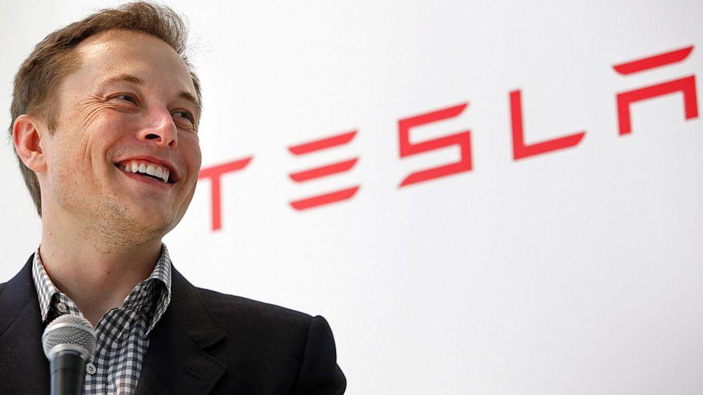 Elon Musk, CEO van Tesla