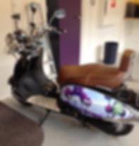 Elektrische scooter van NIVO Noord