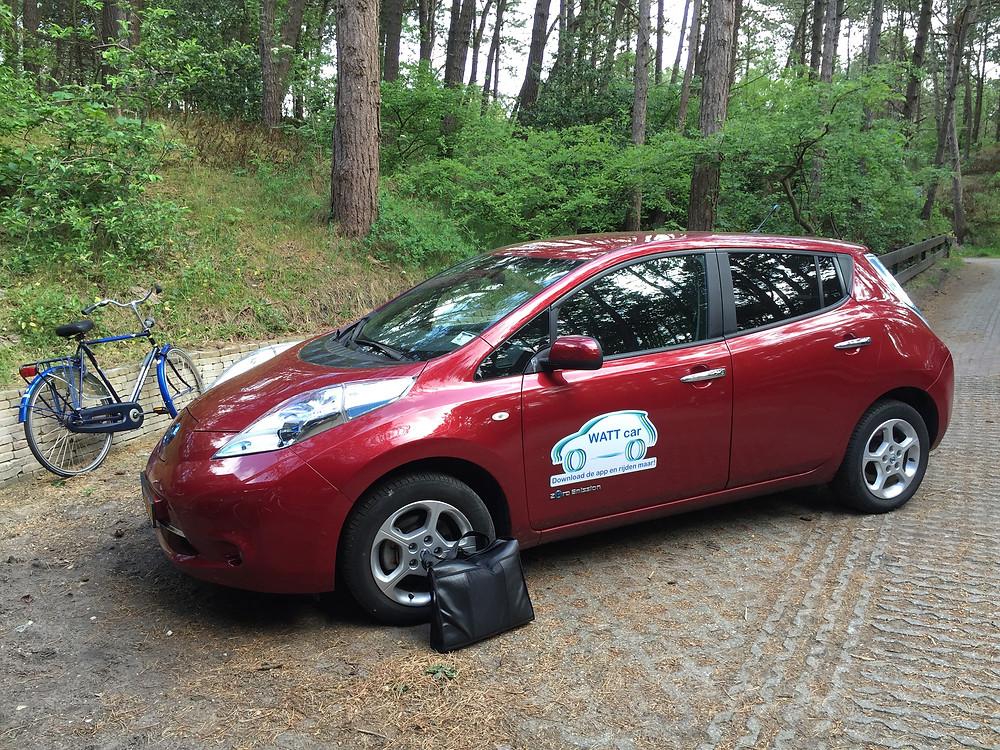 De Wattcar, een superhandig systeem van elektrische deelauto's op Terschelling