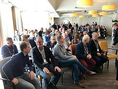 Bezoekers van het Koplopersymposium Zuidhorn in Aduard