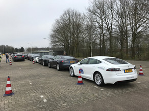 Wereldrecord elektrische voertuigen