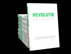 Cover van het boek Revolutie met Recht van Roger Cox