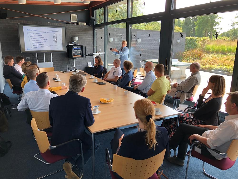 Terugkoppelingsbijeenkomst Koploperproject toekomstbestendig ondernemen bij WLN in Glimmen