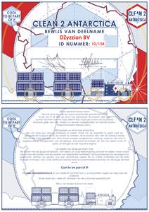 Certificaat van deelname van DZyzzion