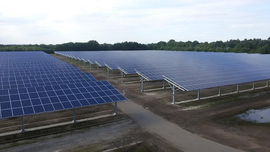Mannen van Staal levert onder meer staalconstructies voor zonneparken