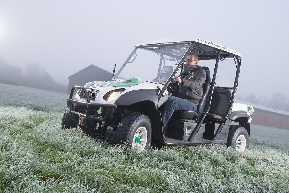 Een voertuig van Frisian Motors