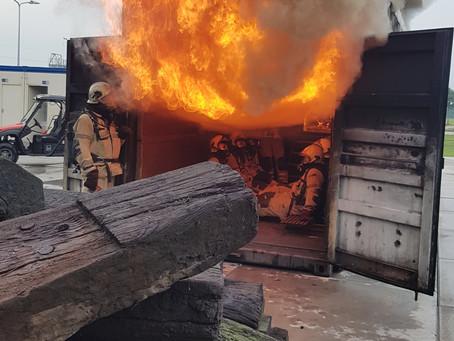 Koplopers Midden-Groningen in vuur en vlam