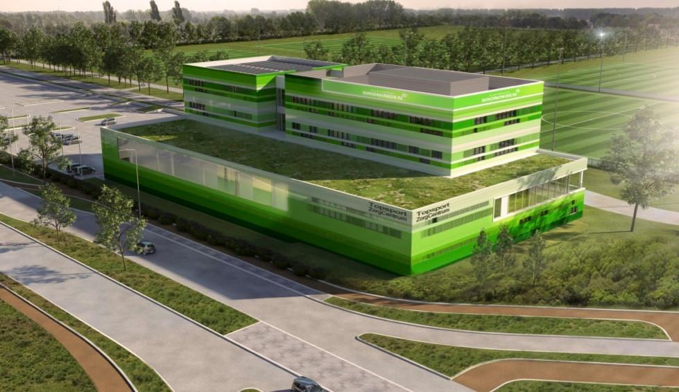 Het gebouw van 2Corpus in Groningen