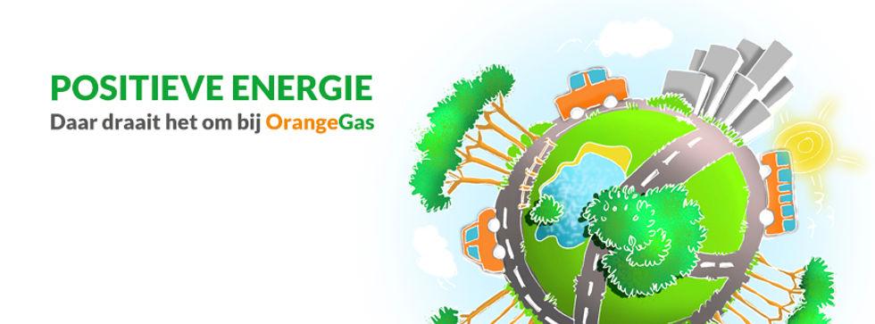 Positieve energie van OrangeGas