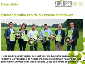Nieuwsbrief Koploperproject juli 2016