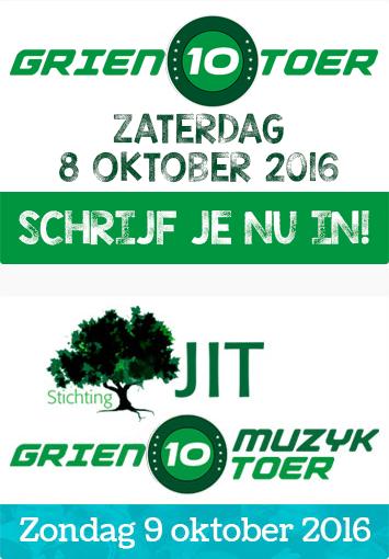 Poster van de Grien10Toer
