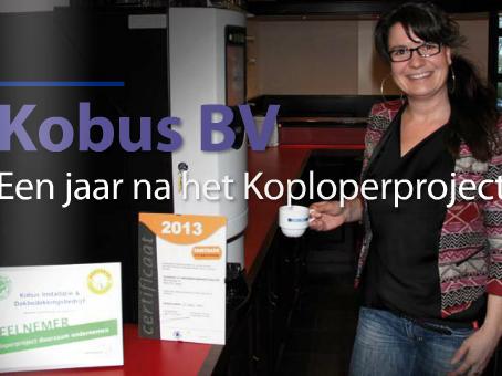 Koploper Kobus een jaar na het Koploperproject