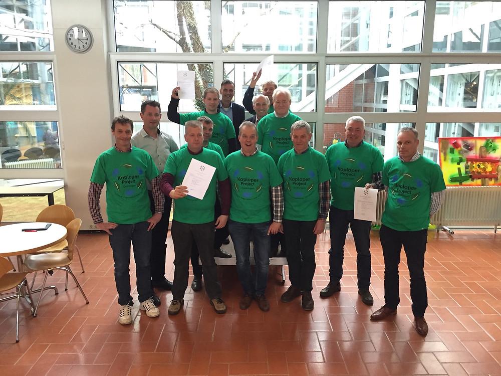 De nieuwe Koplopergroep in Zuidhorn