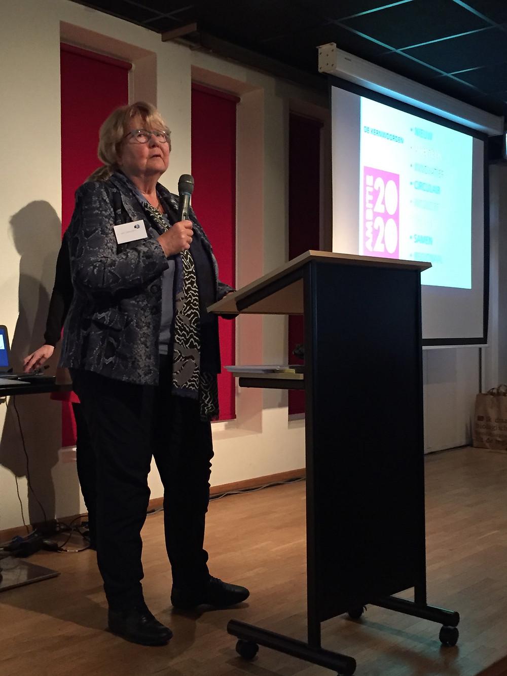 Noor van Leeuwen presenteerde officieel de MVO Alliantie Noord-Nederland