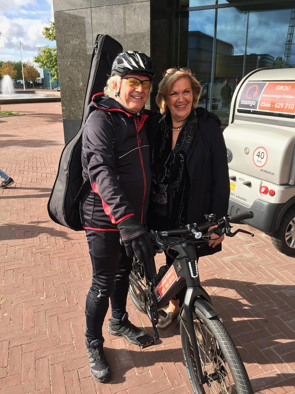 Anneke Douma en Gurbe Douwstra