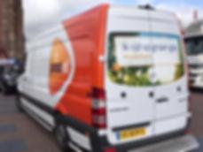 Post NL rijdt ook op groengas van OrangeGas