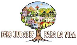 Logo of the Foro Ciudades para la Vida in Peru