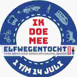 Elfwegentocht logo: Ik doe mee
