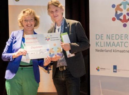 DZyzzion wint Klimaatprijs 2017