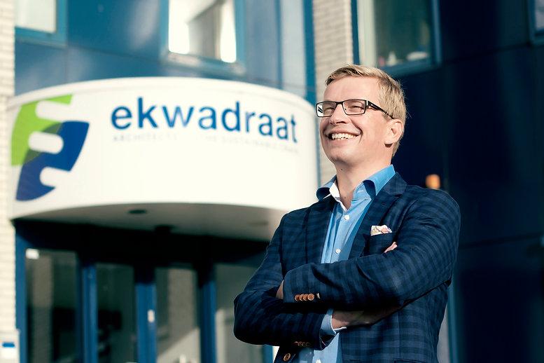 Directeur Douwe Faber van Ekwadraat