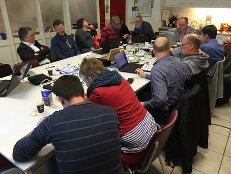 Deelnemers Koploper Kans aan de slag met Milieubarometer
