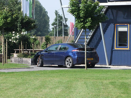 De hybride Opel Ampera