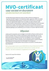 CSR-certificate DZyzzion