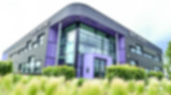 Het hoofdgebouw van NIVO Noord in Leeuwarden