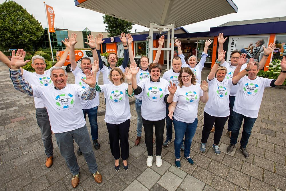 Deelnemers aan het Koploperproject in Het Hogeland