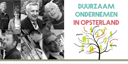 Duurzaam ondernemen in Opsterland. Ervaringen van deelnemers aan het Koploperproject.