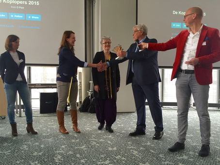 EK Gordijnen wint Koploperprijs Ooststellingwerf!