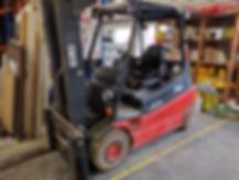 Bouwbedrijf Swart maakt gebruik van elektrische heftrucks