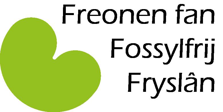 Freonen fan Fossylfrij Fryslân logo