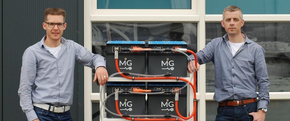 Gerard van der Schaar en Mark Scholten van MG Energy Systems