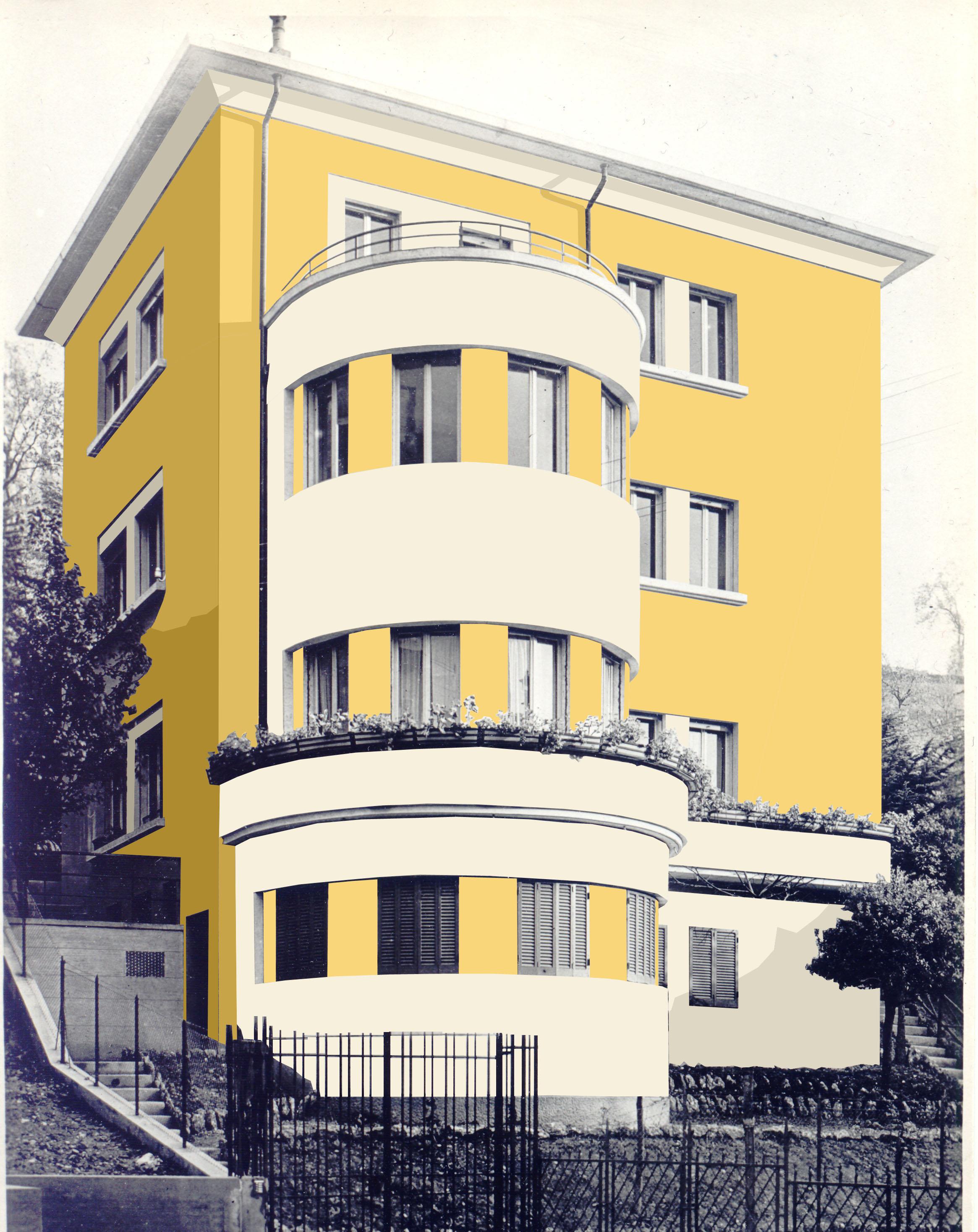 Restauro villa Bariani Bologna