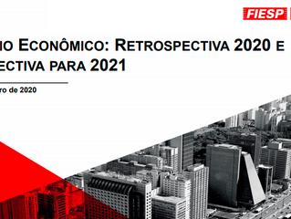 CENÁRIO ECONÔMICO: RETROSPECTIVA 2020 E PERSPECTIVA PARA 2021