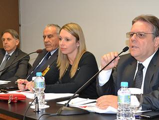 Presidente do Sindijoias coordena reunião da Cser
