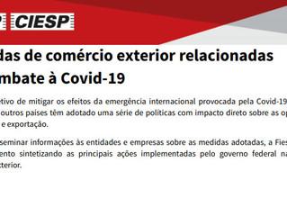 Medidas de comércio exterior relacionadas ao combate à Covid-19